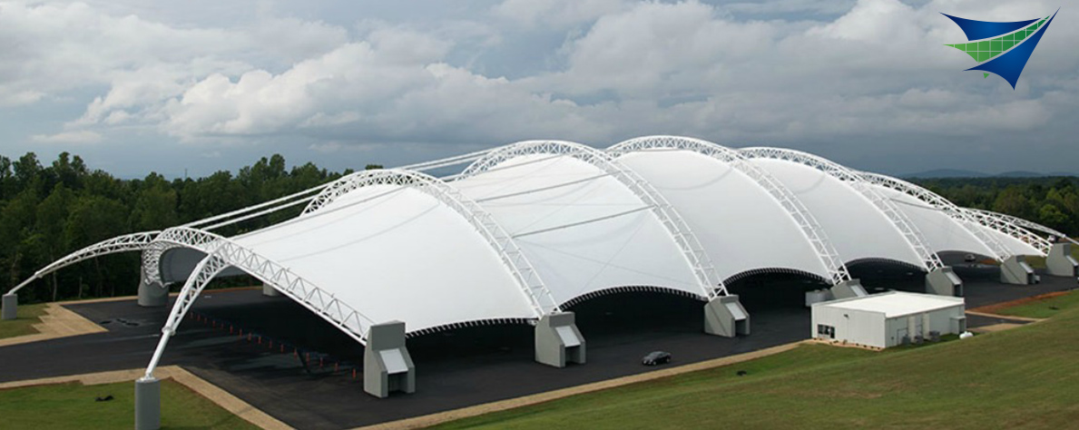 Large Scale Industrial Structures - Tensile Structure Systems