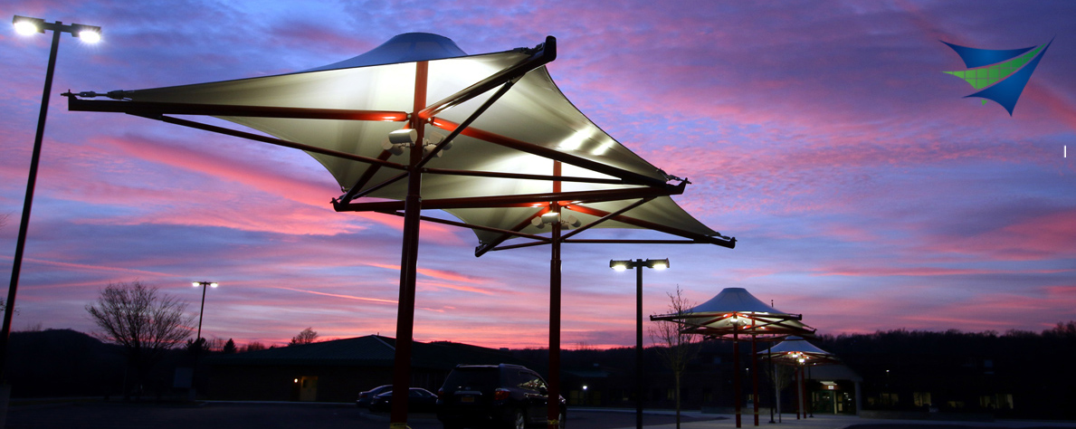 Architectural Umbrellas - Tensile Structure Systems